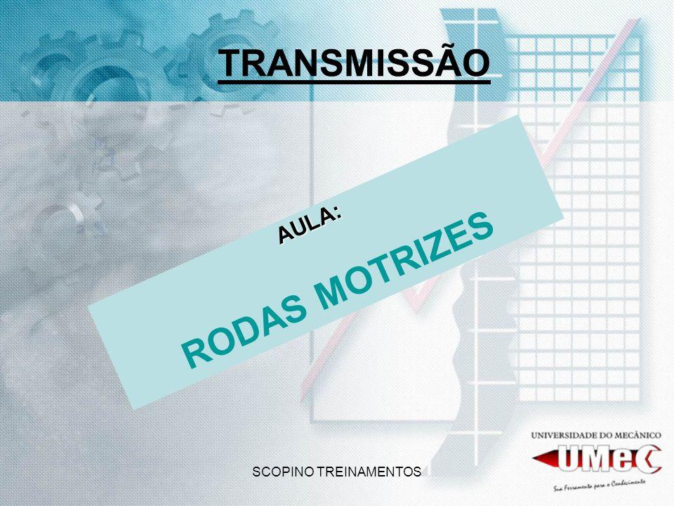 TRANSMISSÃO RODAS MOTRIZES