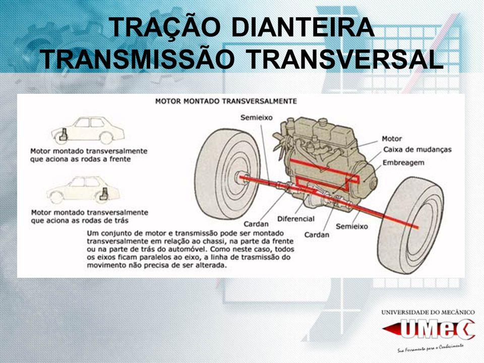 TRAÇÃO DIANTEIRA TRANSMISSÃO TRANSVERSAL