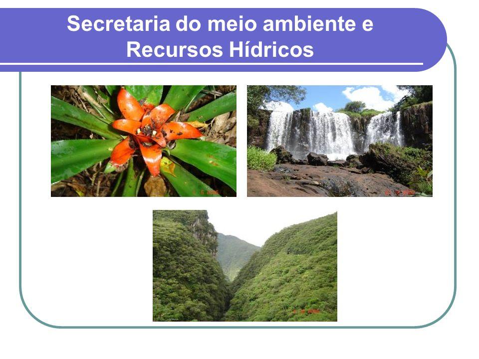 Secretaria do meio ambiente e Recursos Hídricos