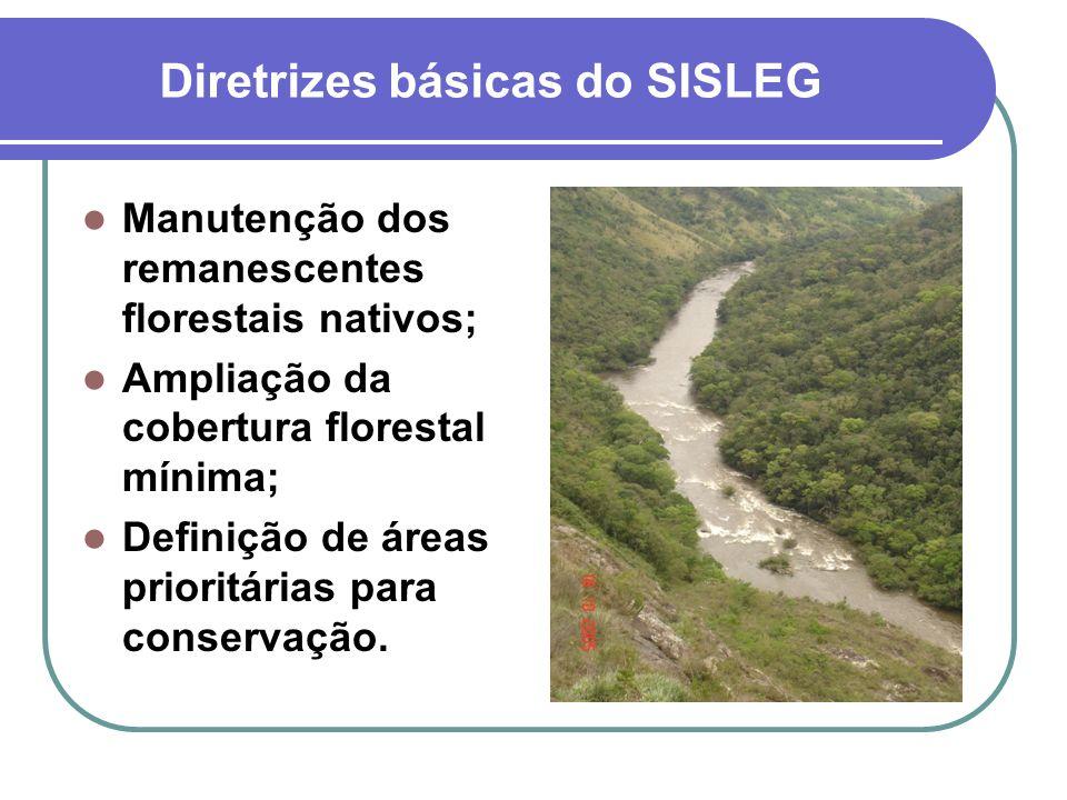 Diretrizes básicas do SISLEG