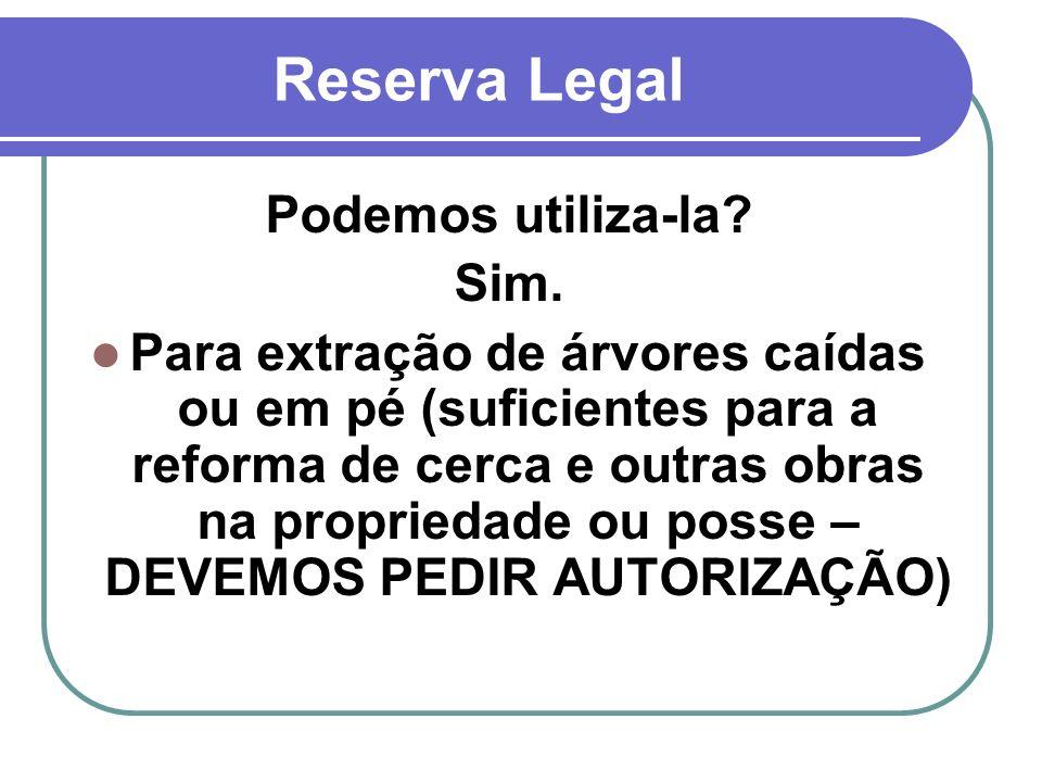 Reserva Legal Podemos utiliza-la Sim.