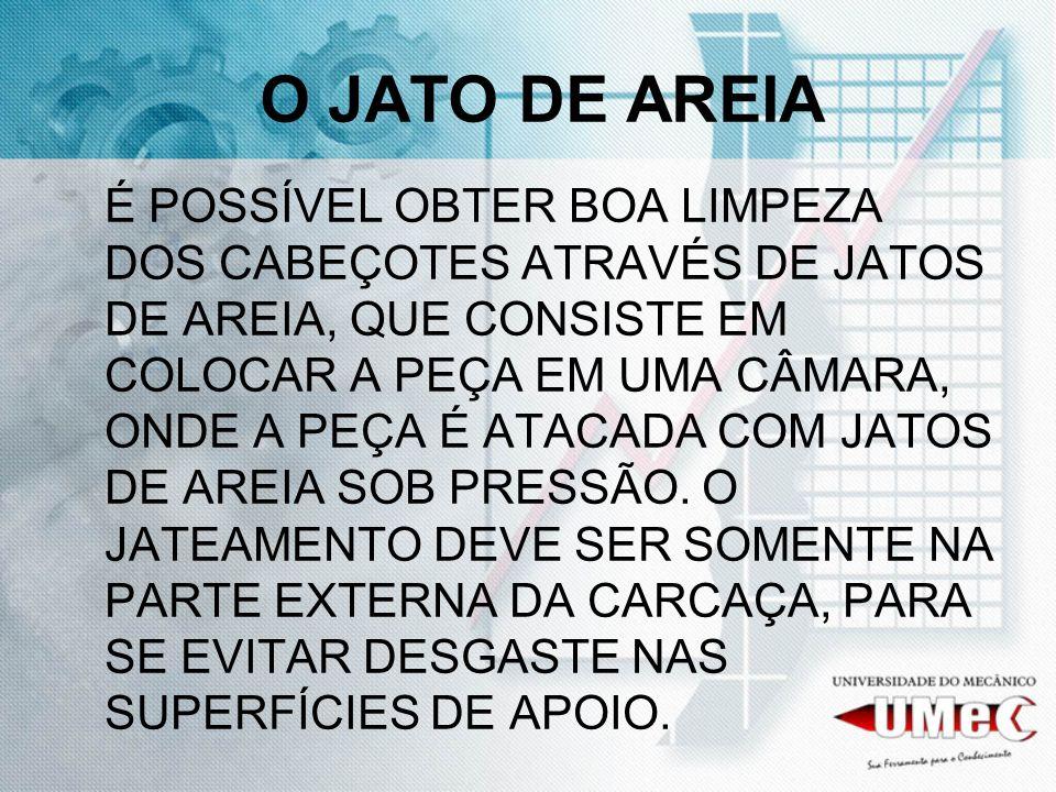 O JATO DE AREIA