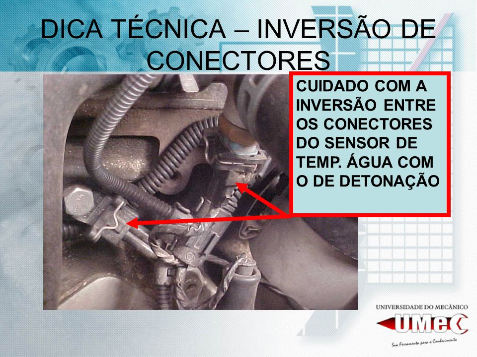 DICA TÉCNICA – INVERSÃO DE CONECTORES
