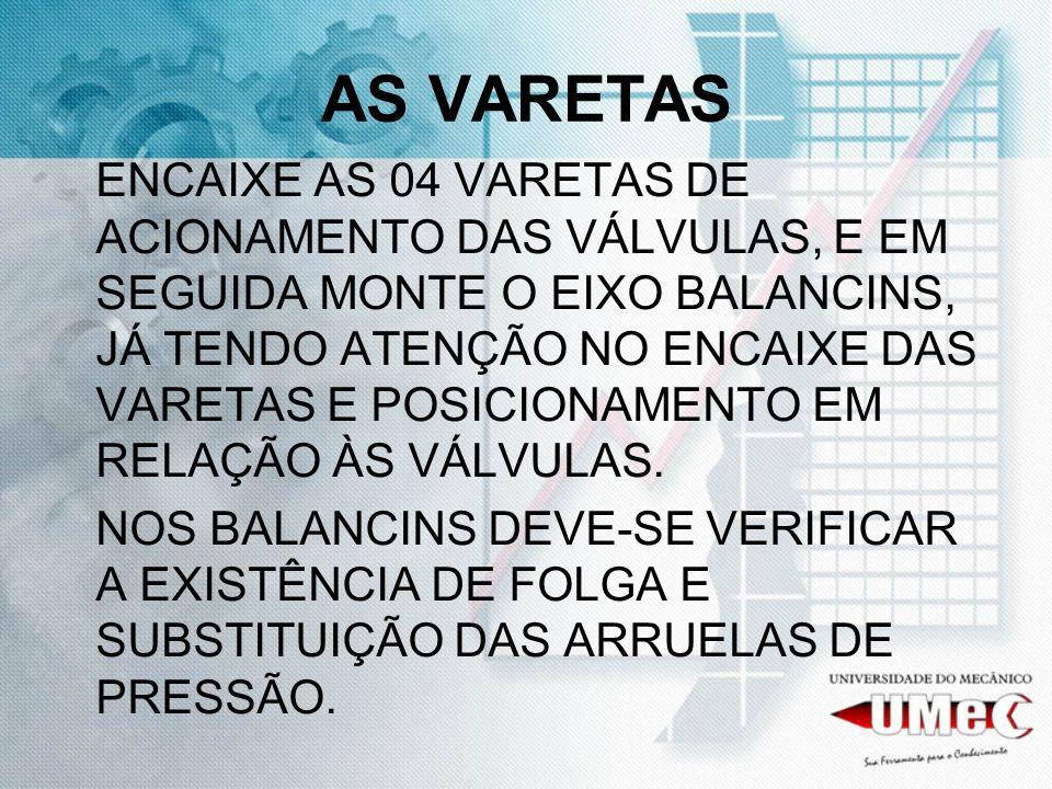AS VARETAS