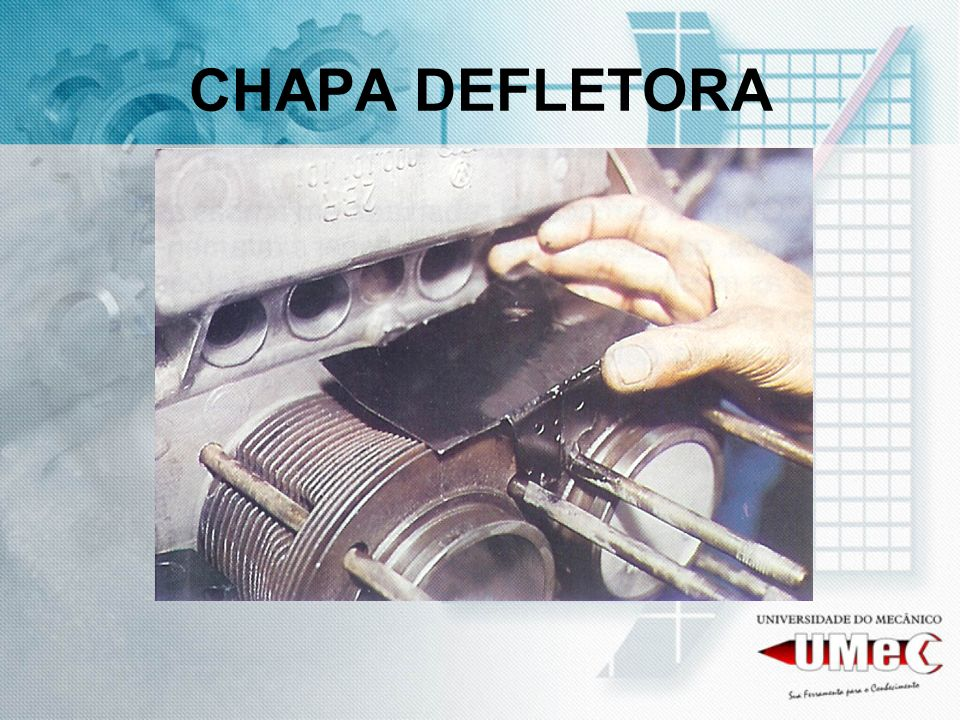 CHAPA DEFLETORA