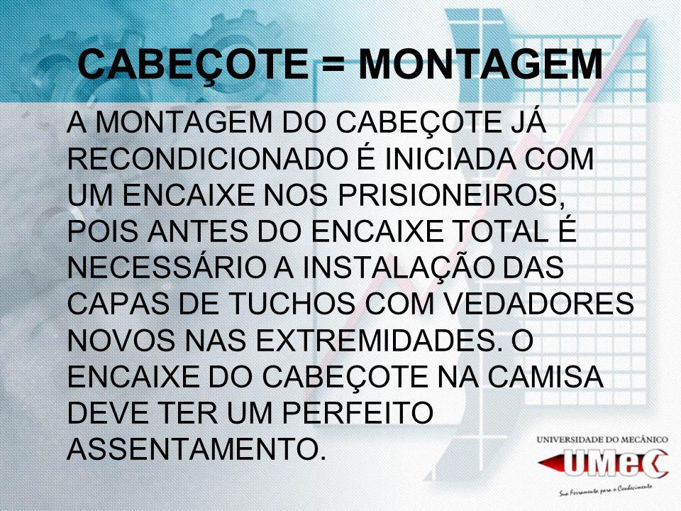 CABEÇOTE = MONTAGEM