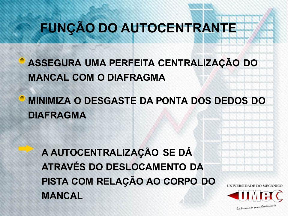 FUNÇÃO DO AUTOCENTRANTE