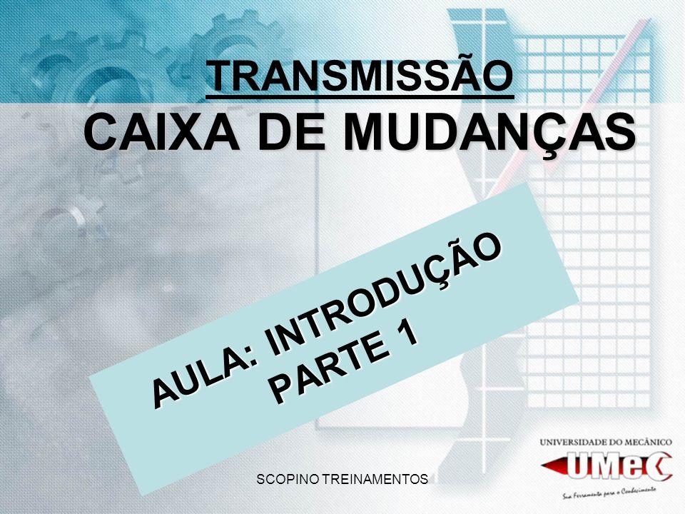 TRANSMISSÃO CAIXA DE MUDANÇAS
