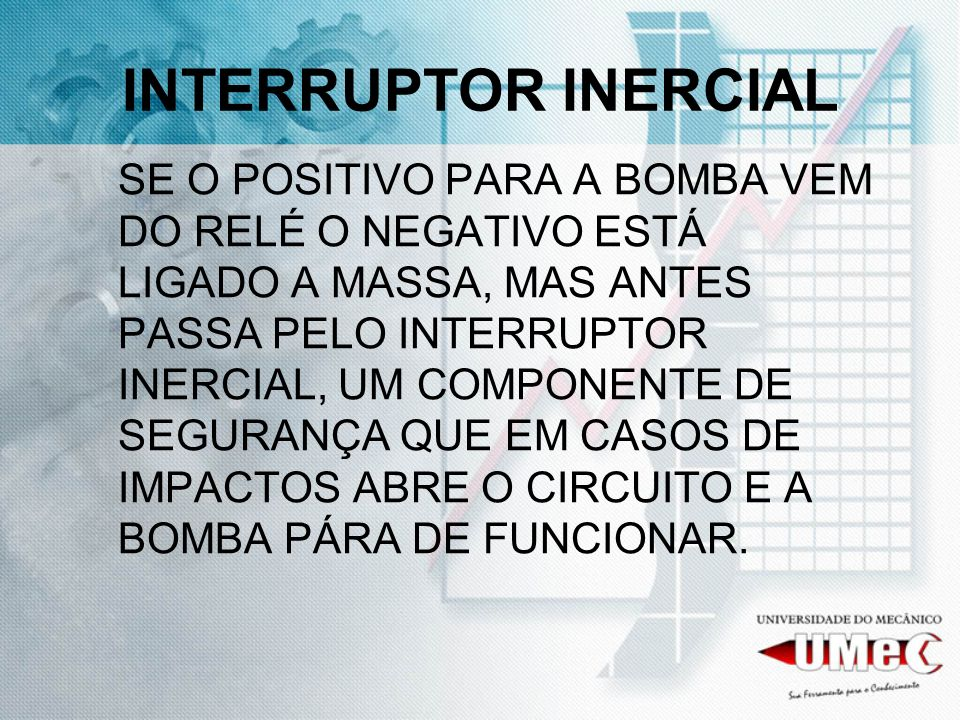 INTERRUPTOR INERCIAL