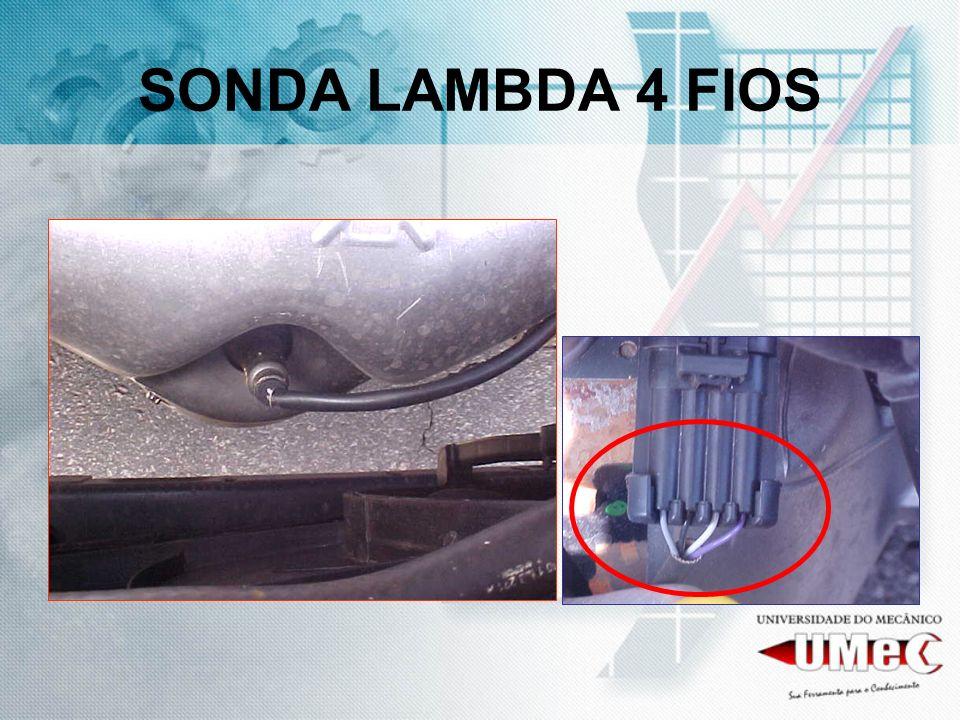 SONDA LAMBDA 4 FIOS