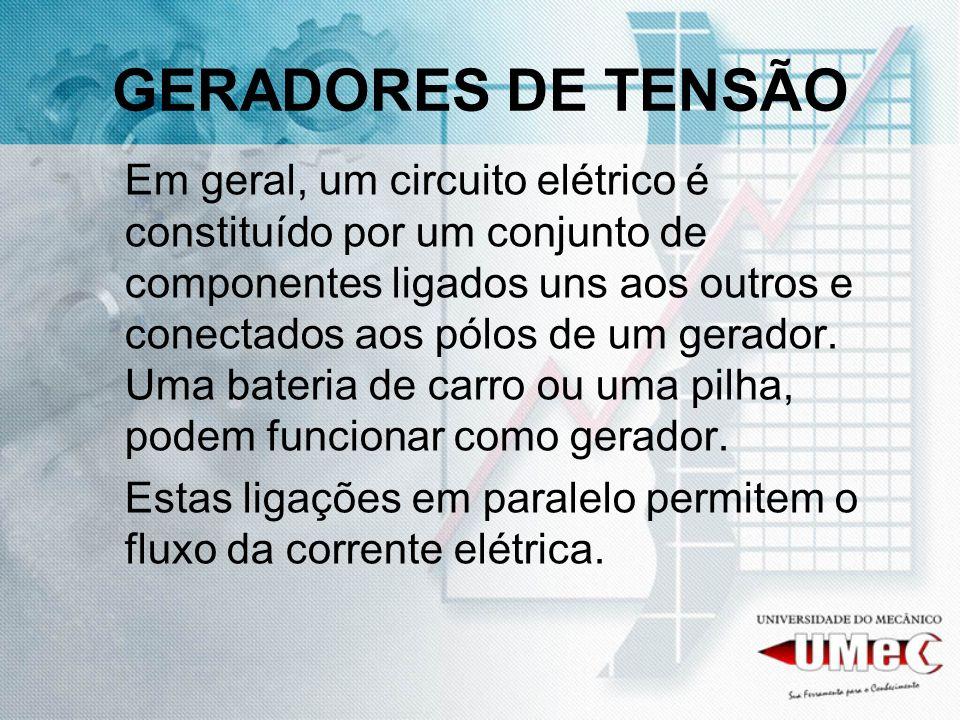 GERADORES DE TENSÃO