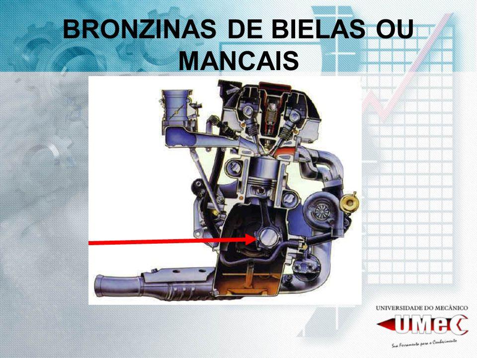 BRONZINAS DE BIELAS OU MANCAIS