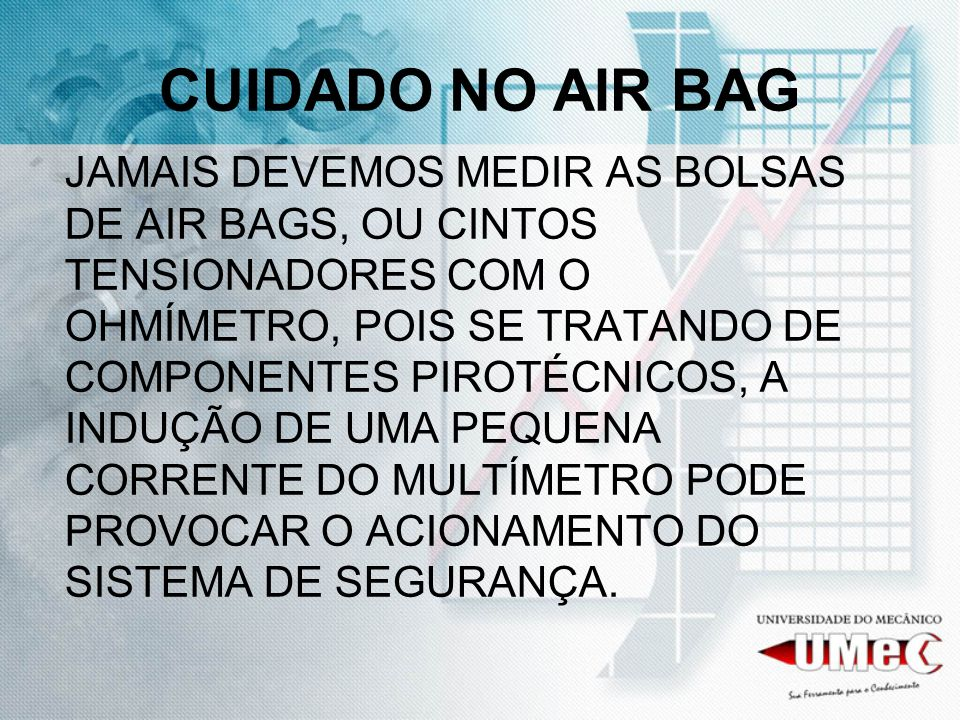 CUIDADO NO AIR BAG