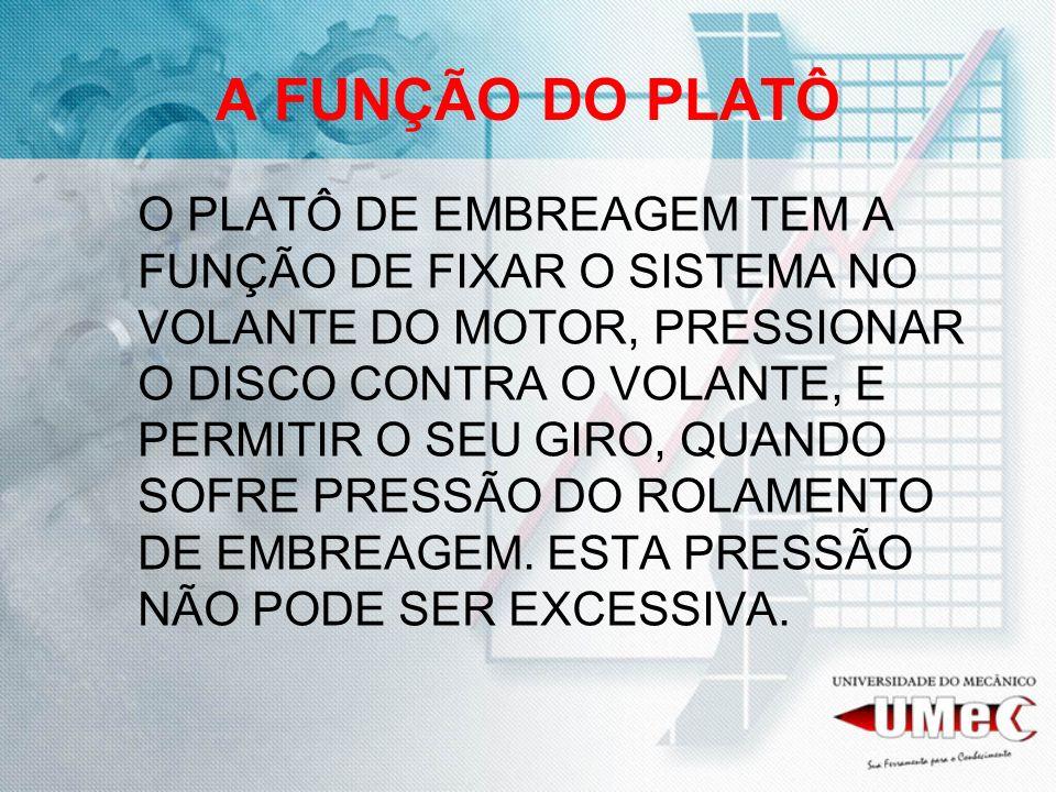 A FUNÇÃO DO PLATÔ