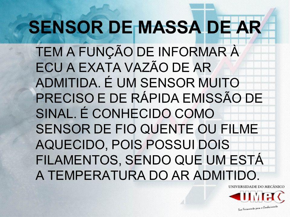 SENSOR DE MASSA DE AR