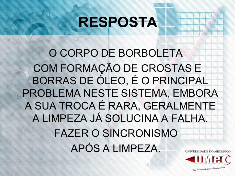 RESPOSTA O CORPO DE BORBOLETA