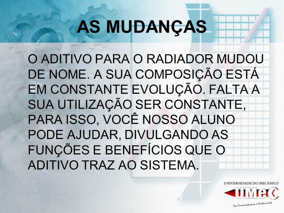 AS MUDANÇAS
