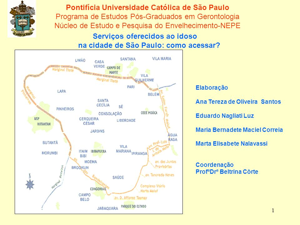 na cidade de São Paulo: como acessar