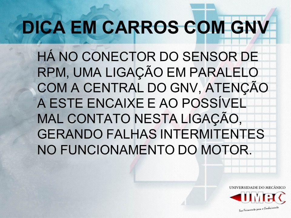 DICA EM CARROS COM GNV