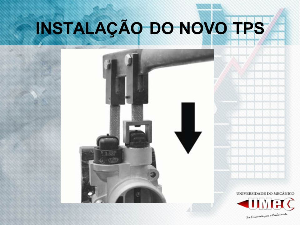 INSTALAÇÃO DO NOVO TPS