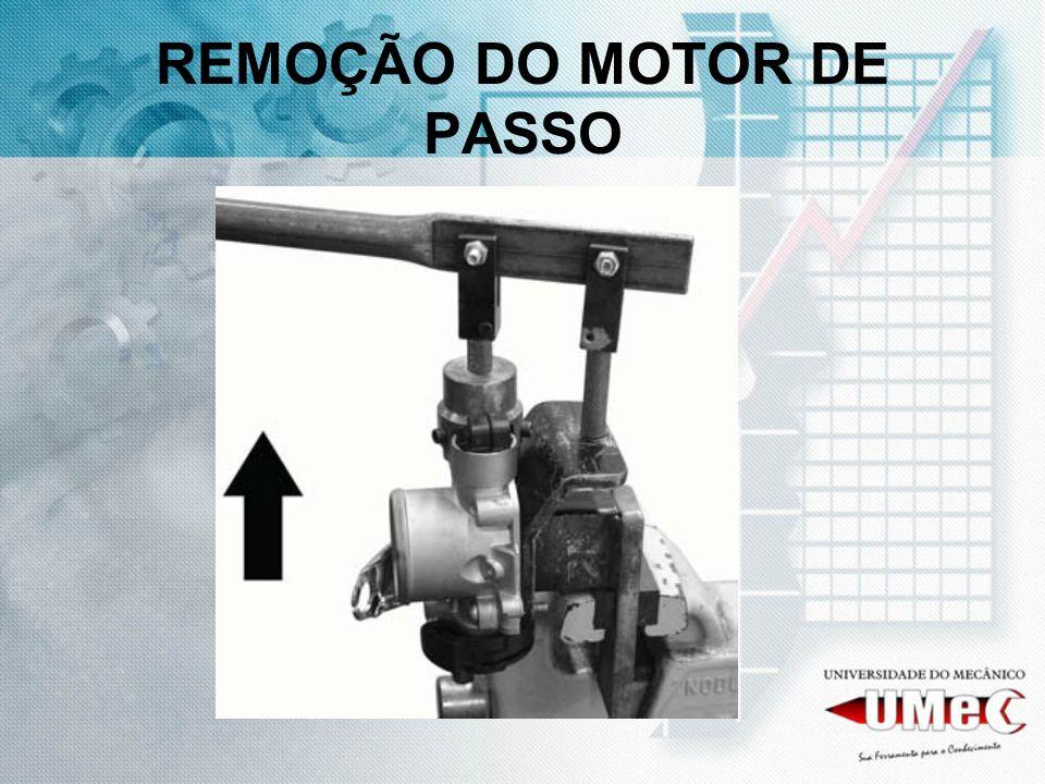 REMOÇÃO DO MOTOR DE PASSO