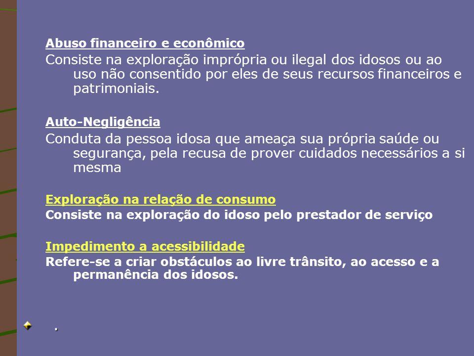 Abuso financeiro e econômico