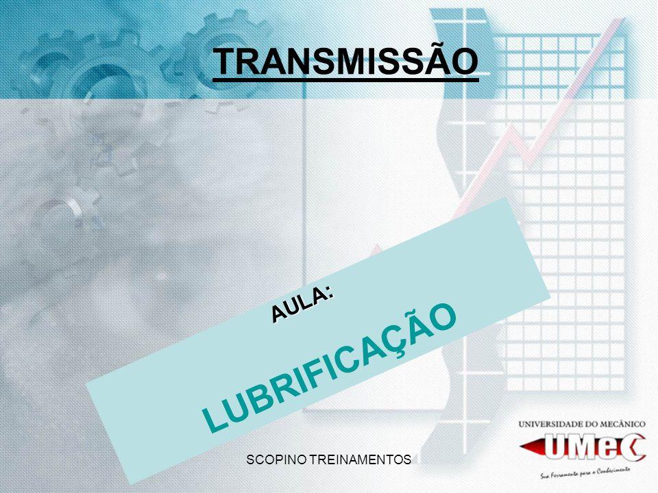 TRANSMISSÃO LUBRIFICAÇÃO