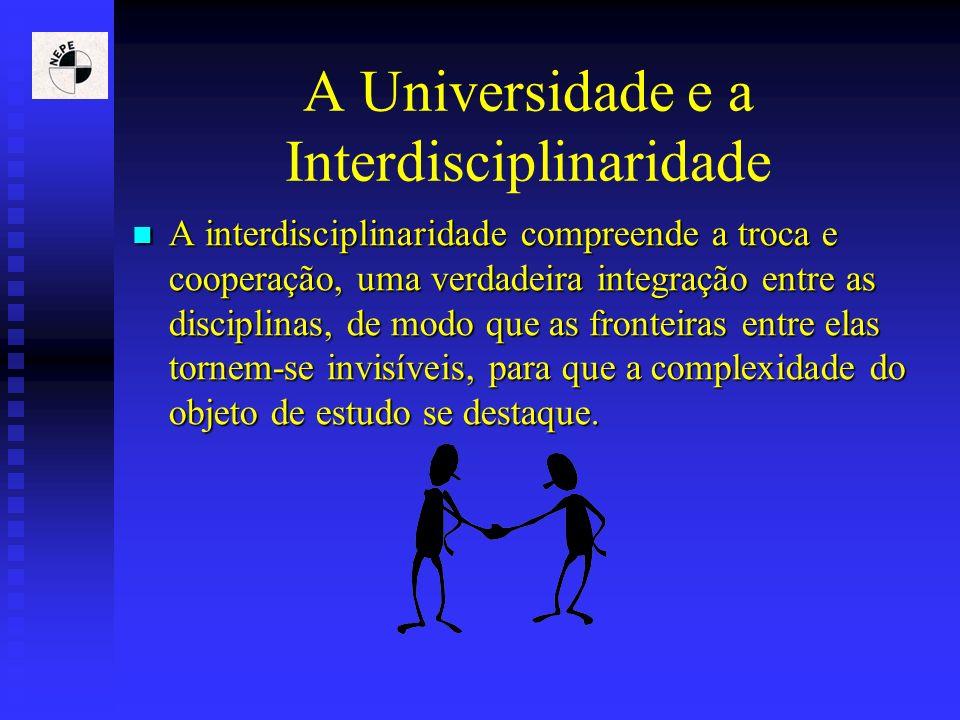 A Universidade e a Interdisciplinaridade