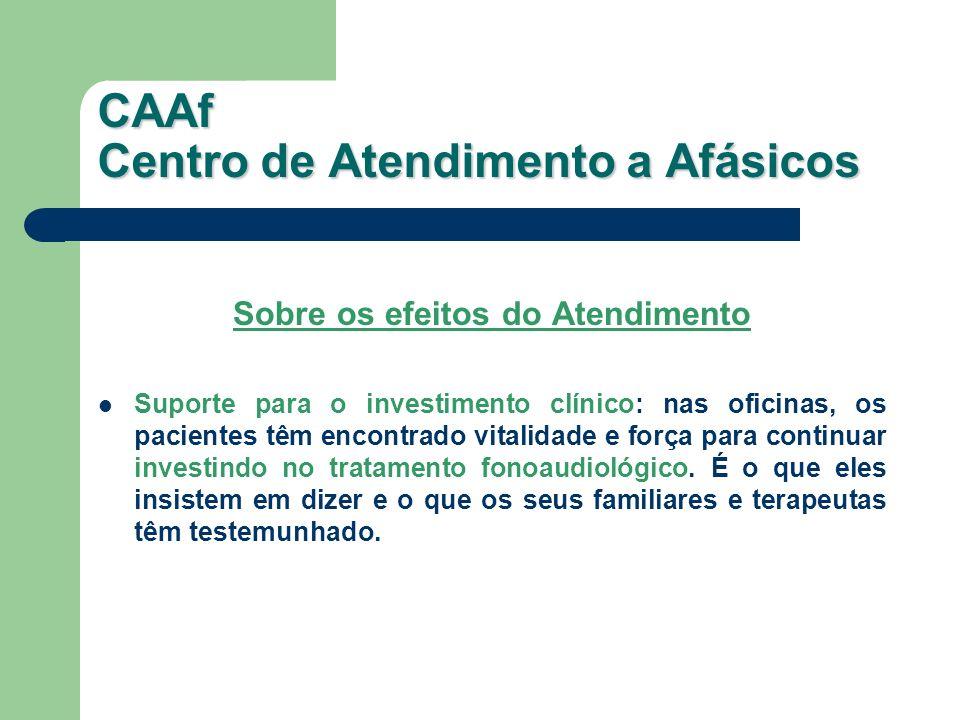 CAAf Centro de Atendimento a Afásicos
