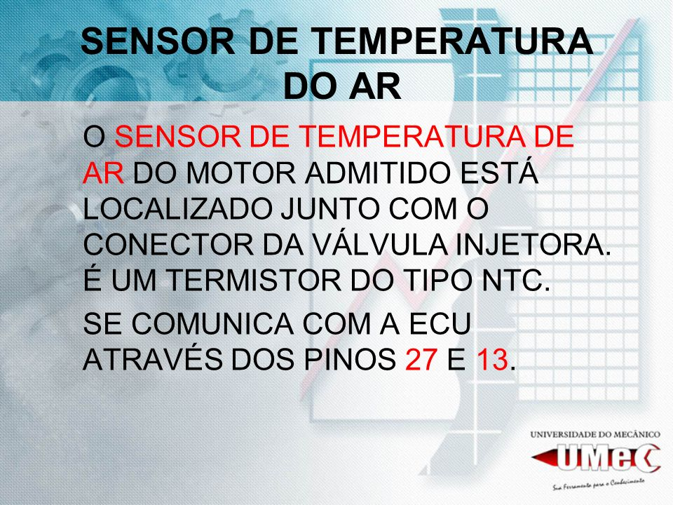 SENSOR DE TEMPERATURA DO AR