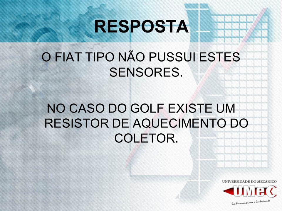 RESPOSTA O FIAT TIPO NÃO PUSSUI ESTES SENSORES.
