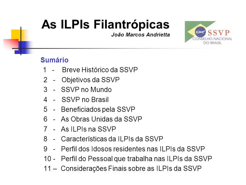 As ILPIs Filantrópicas João Marcos Andrietta