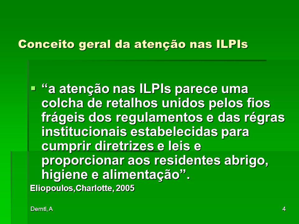 Conceito geral da atenção nas ILPIs