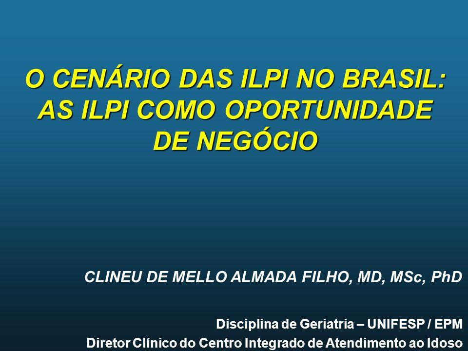 O CENÁRIO DAS ILPI NO BRASIL: AS ILPI COMO OPORTUNIDADE DE NEGÓCIO