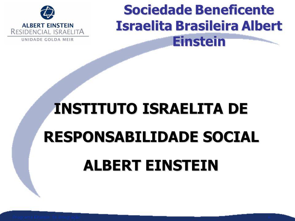 INSTITUTO ISRAELITA DE RESPONSABILIDADE SOCIAL ALBERT EINSTEIN