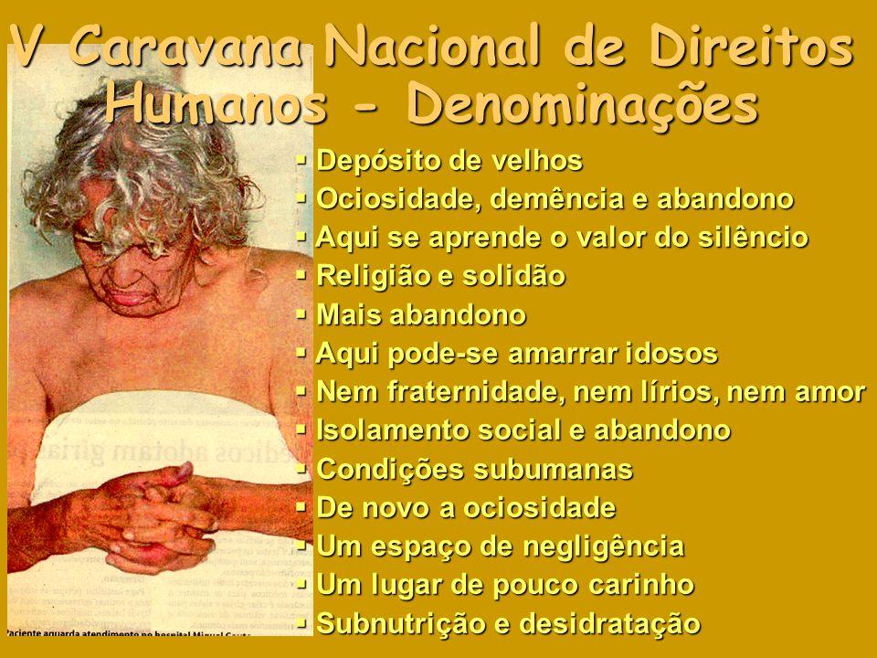 V Caravana Nacional de Direitos Humanos - Denominações