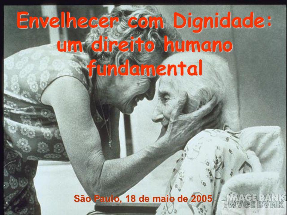 Envelhecer com Dignidade: um direito humano fundamental