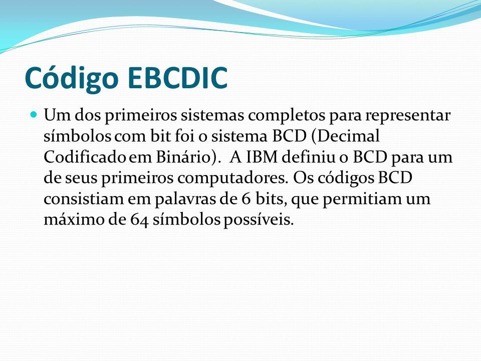 Código EBCDIC