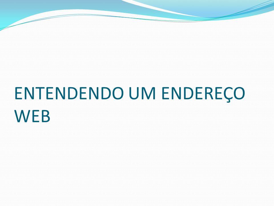 ENTENDENDO UM ENDEREÇO WEB