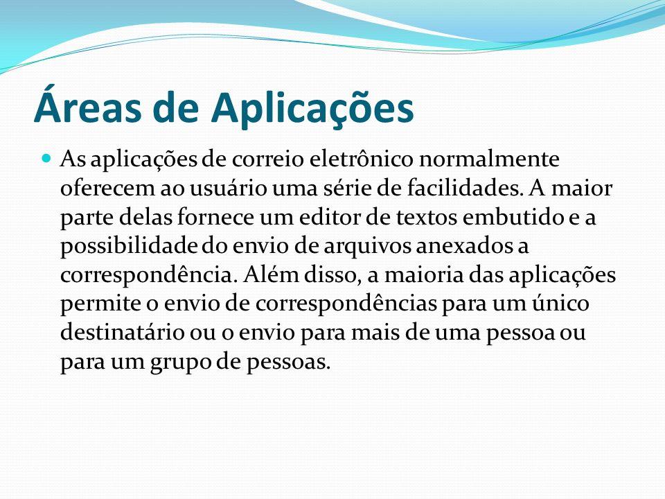 Áreas de Aplicações