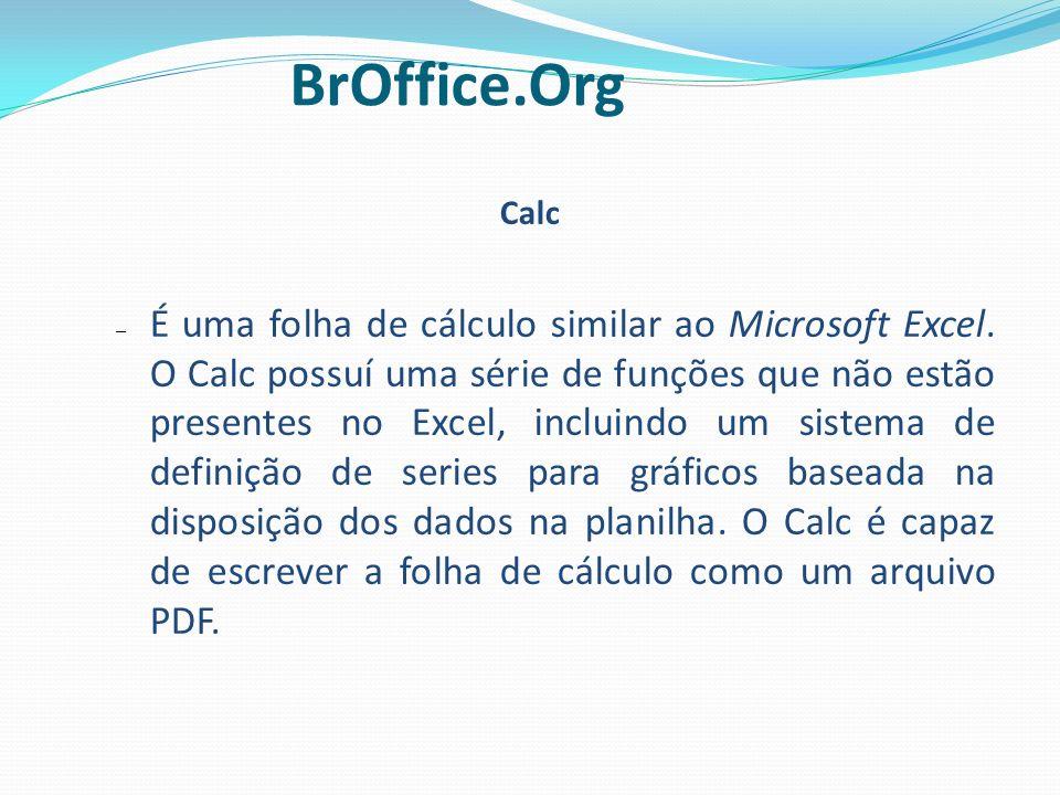 1313 BrOffice.Org. Calc.