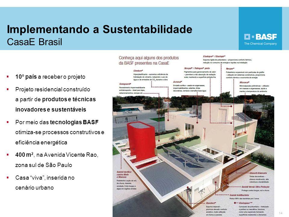 Implementando a Sustentabilidade CasaE Brasil
