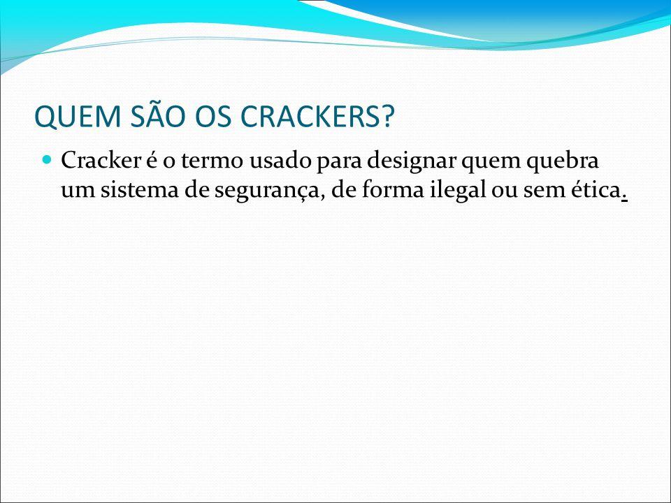 QUEM SÃO OS CRACKERS.