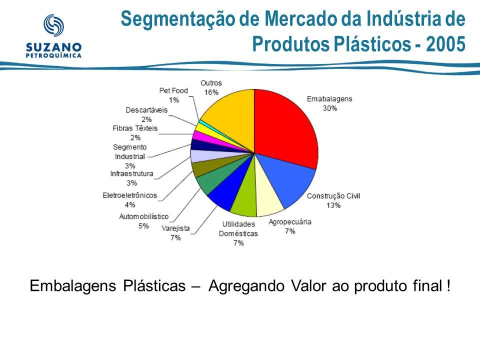 Segmentação de Mercado da Indústria de Produtos Plásticos - 2005