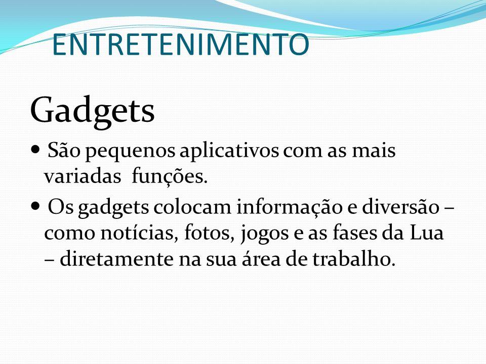 Gadgets ENTRETENIMENTO