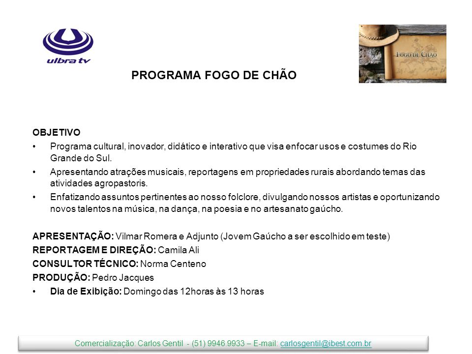 PROGRAMA FOGO DE CHÃO OBJETIVO