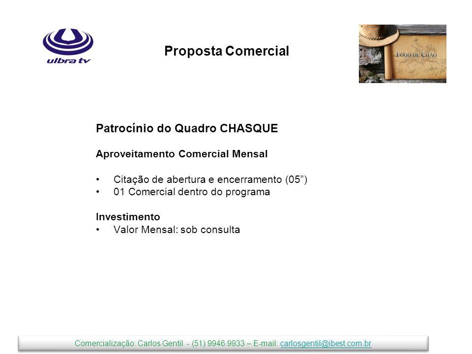 Proposta Comercial Patrocínio do Quadro CHASQUE