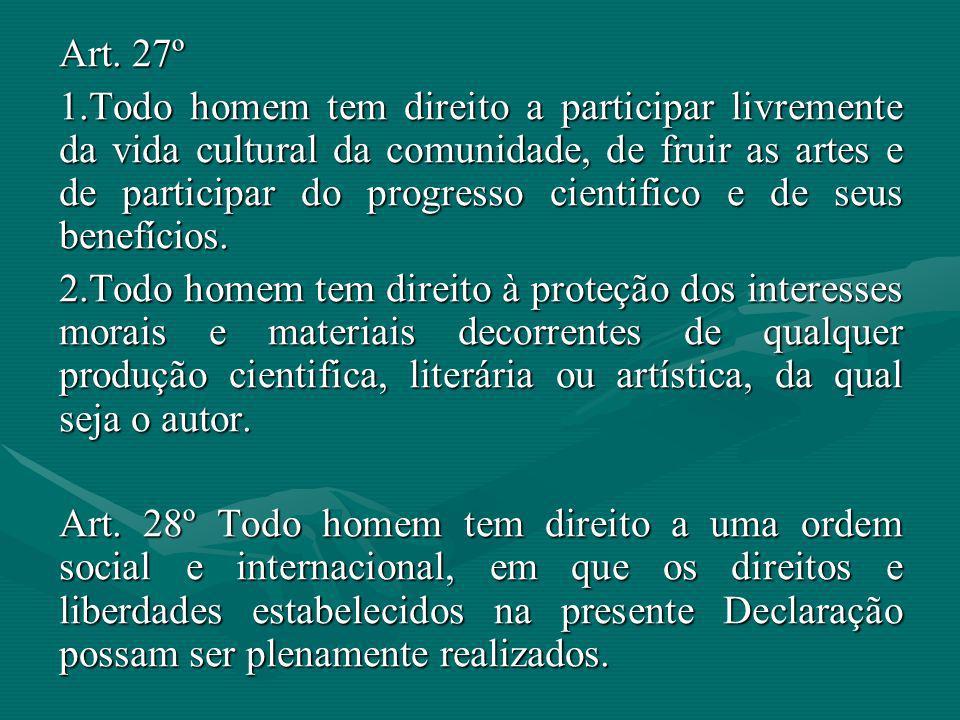 Art. 27º