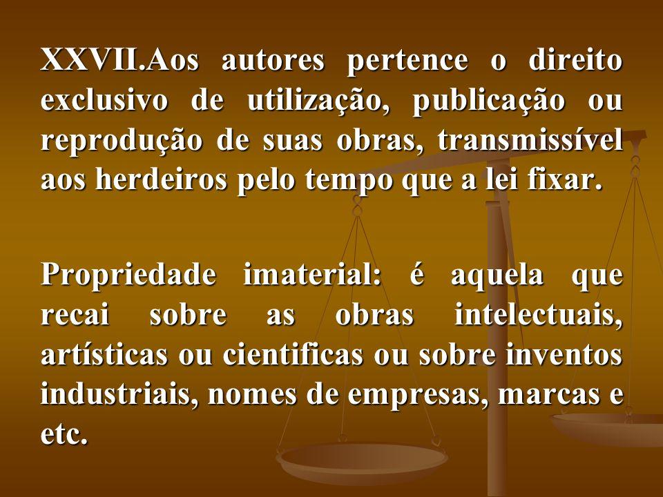 Aos autores pertence o direito exclusivo de utilização, publicação ou reprodução de suas obras, transmissível aos herdeiros pelo tempo que a lei fixar.