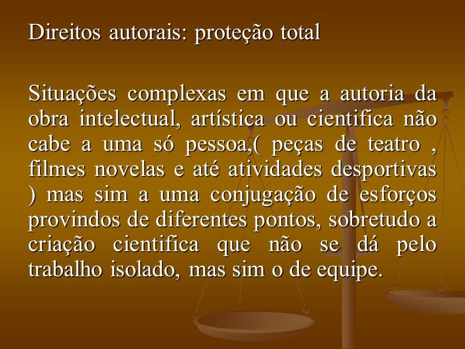 Direitos autorais: proteção total